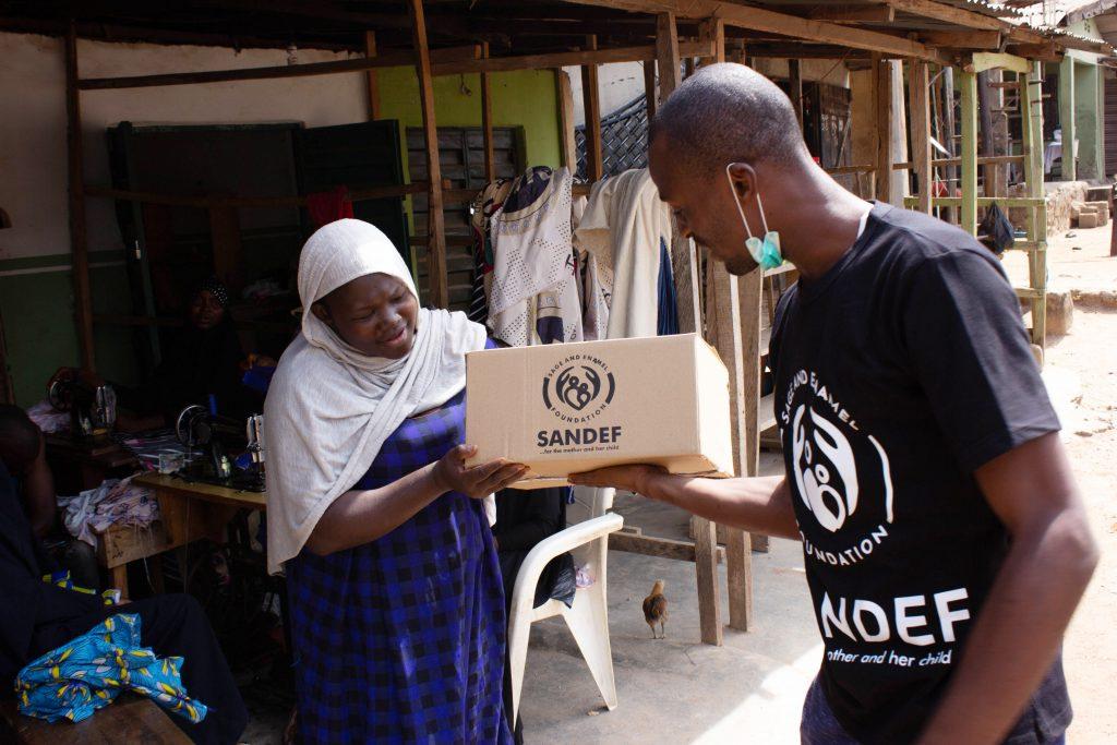 SANDEF Food Assistance Program for Dcecmber 2020